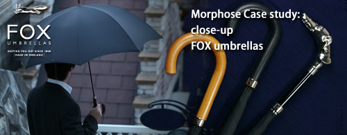 FOX Umbrellas(フォックスアンブレラズ):Gents TUBEライン