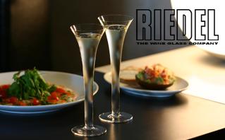 Riedel(リーデル):シャンパン&マティーニグラス
