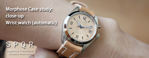 SPQR(スポール) 純国産機械式腕時計 -パワーリザーブ オートマチック モデル編-